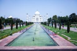 Taj Mahal, Agra, India, 2014